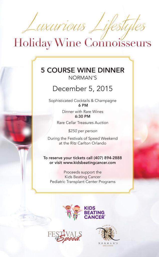 KBC Wine Dinner
