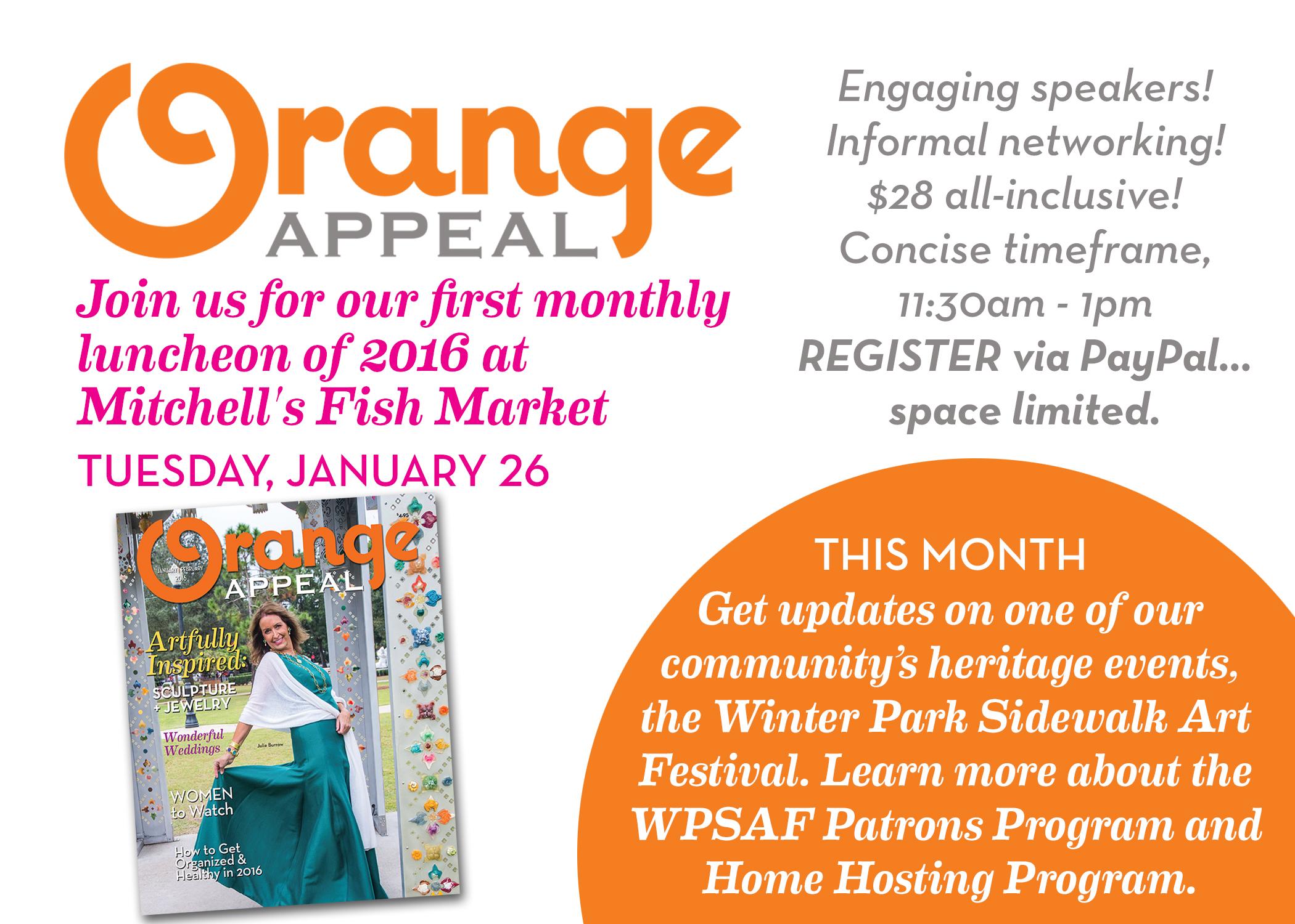 orange appeal luncheon 2016