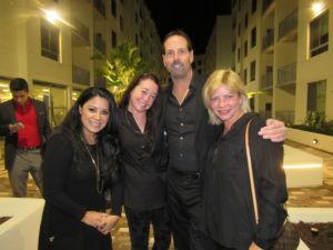 Vanessa Cortes, Michelle Tracey, Edward Johnston and Sonja Haltiwanger