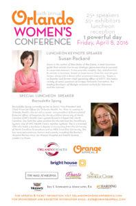 6th annual Orlando Womens Conference Keynotes