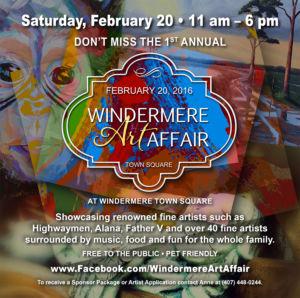 Windermere Art Affair feb 2016