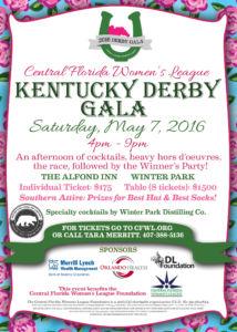 Kentucky Derby Gala 2016