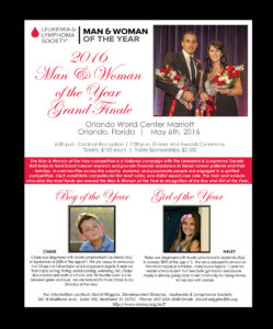 LLS Man & Woman of the Year Grand Finale