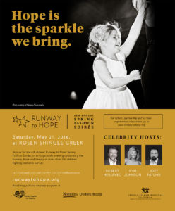 6th Annual Runway to Hope Spring Soiree