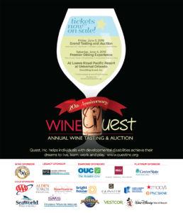 20th Anniversary Wine Quest