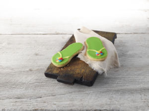 flip flop cookies for foster care