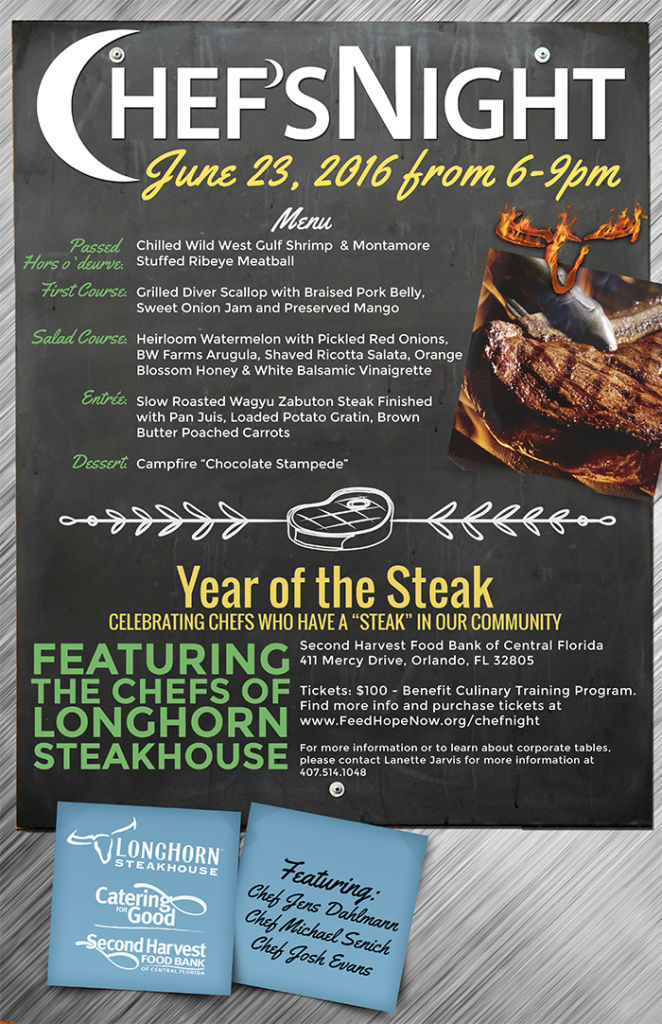 LongHorn Chef Night Poster