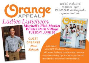 Orange Appeal Ladies Luncheon june 2016