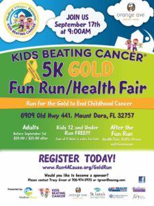 Kids Beating Cancer 5K