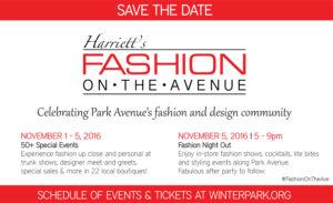 Fashion On The Avenue November 2016