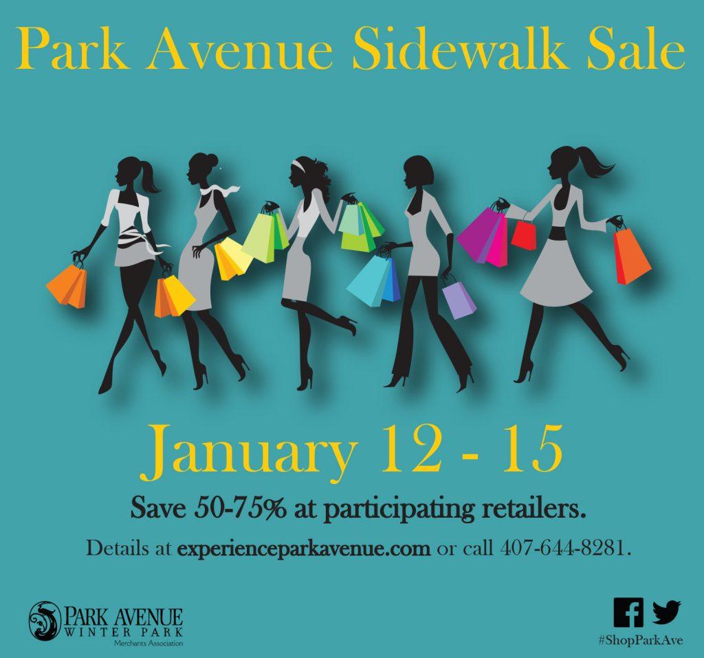 PAMA Sidewalk Sale OA Jan17