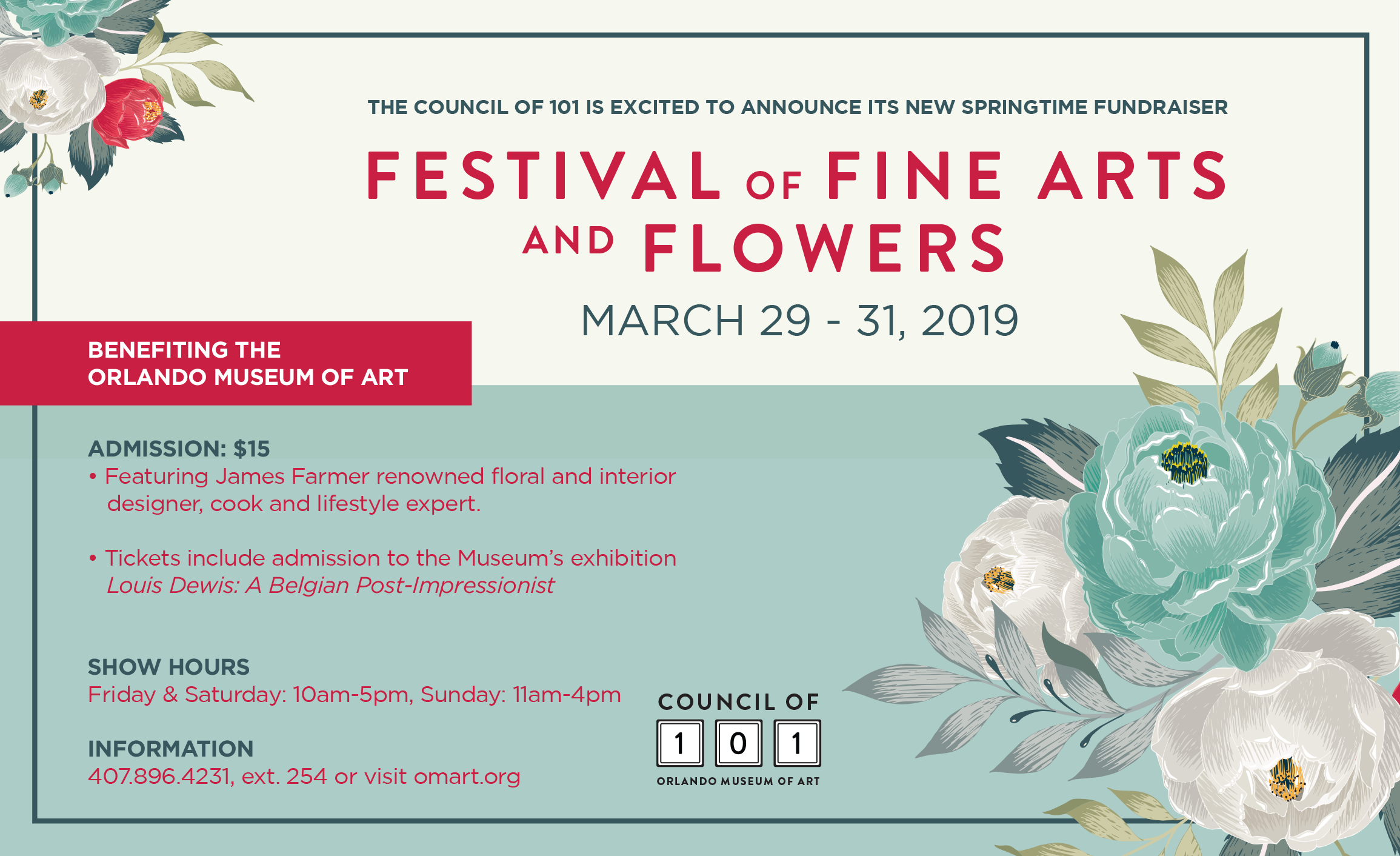 Festival of Fine Art and Flowers | Orange Appeal